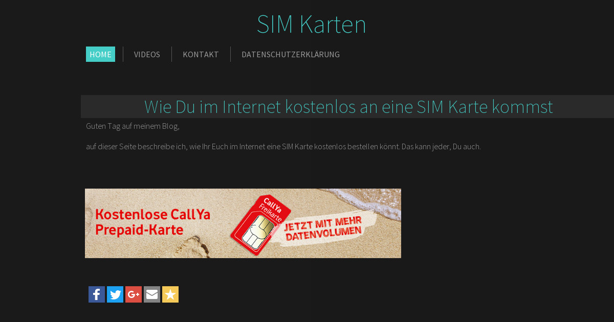 Sim Karte Kostenlos Internet.Alles über Sim Karten Home